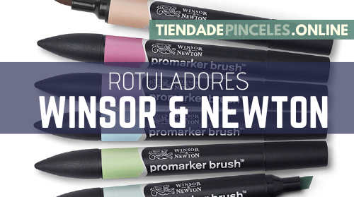 Rotuladores W&N Promarker Brushmarker