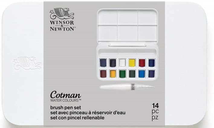 winsor and newton acuarelas